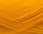 Very thin yarn. It is spinned as two threads. So you will knit as two threads. Yardage information is for only one strand. Fiber Content 100% Acrylic, Brand Ice Yarns, Dark Yellow, Yarn Thickness 1 SuperFine  Sock, Fingering, Baby, fnt2-22455
