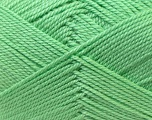 Fiber Content 100% Acrylic, Mint Green, Brand ICE, Yarn Thickness 2 Fine  Sport, Baby, fnt2-23585