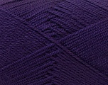 Fiber Content 100% Acrylic, Brand Ice Yarns, Dark Purple, Yarn Thickness 2 Fine  Sport, Baby, fnt2-23596