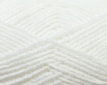 Worsted  Fiber Content 100% Acrylic, White, Brand Ice Yarns, Yarn Thickness 4 Medium  Worsted, Afghan, Aran, fnt2-23721