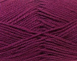 Worsted  Fiber Content 100% Acrylic, Maroon, Brand Ice Yarns, Yarn Thickness 4 Medium  Worsted, Afghan, Aran, fnt2-23736