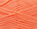 Fiber Content 100% Baby Acrylic, Light Orange, Brand Ice Yarns, Yarn Thickness 2 Fine  Sport, Baby, fnt2-24527