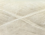 Fiber Content 70% Mohair, 30% Acrylic, White, Brand Ice Yarns, Yarn Thickness 5 Bulky  Chunky, Craft, Rug, fnt2-24640