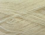Fiber Content 70% Mohair, 30% Acrylic, Brand Ice Yarns, Cream, Yarn Thickness 5 Bulky  Chunky, Craft, Rug, fnt2-24645
