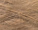 Fiber Content 70% Mohair, 30% Acrylic, Brand Ice Yarns, Camel, Yarn Thickness 5 Bulky  Chunky, Craft, Rug, fnt2-24647