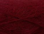 Fasergehalt 70% Mohair, 30% Acryl, Brand Ice Yarns, Burgundy, Yarn Thickness 5 Bulky  Chunky, Craft, Rug, fnt2-24675