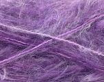 Fiber Content 70% Mohair, 30% Acrylic, Purple Shades, Brand Ice Yarns, Yarn Thickness 5 Bulky  Chunky, Craft, Rug, fnt2-24691