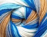 Fiber Content 100% Baby Acrylic, White, Brand Ice Yarns, Grey, Camel, Blue, Yarn Thickness 2 Fine  Sport, Baby, fnt2-29606