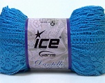 Fiber Content 65% Nylon, 35% Acrylic, Brand Ice Yarns, Blue, Yarn Thickness 6 SuperBulky  Bulky, Roving, fnt2-30614