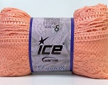 Fiber Content 65% Nylon, 35% Acrylic, Light Salmon, Brand Ice Yarns, Yarn Thickness 6 SuperBulky  Bulky, Roving, fnt2-30618