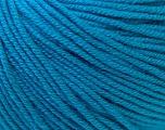 Fiber Content 60% Cotton, 40% Acrylic, Brand Ice Yarns, Blue, Yarn Thickness 2 Fine  Sport, Baby, fnt2-32624
