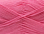 Kuitupitoisuus 50% Puuvilla, 50% Akryyli, Pink, Brand Ice Yarns, Yarn Thickness 3 Light  DK, Light, Worsted, fnt2-32791