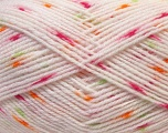 Fiber Content 100% Acrylic, Orange, Light Pink, Brand ICE, Green, Yarn Thickness 2 Fine  Sport, Baby, fnt2-33073