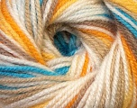 Fiber Content 100% Premium Acrylic, Yellow, White, Brand Ice Yarns, Camel, Blue, Yarn Thickness 3 Light  DK, Light, Worsted, fnt2-33397
