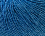 Fiber Content 60% Cotton, 40% Acrylic, Jeans Blue, Brand Ice Yarns, Yarn Thickness 2 Fine  Sport, Baby, fnt2-33587