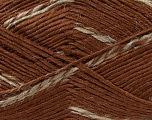 Fiber Content 90% Premium Acrylic, 10% Polyamide, Brand ICE, Camel, Brown, Yarn Thickness 3 Light  DK, Light, Worsted, fnt2-36295