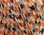 Fiber indhold 100% Polyamid, Yellow, White, Yarn Thickness Other, Orange, Brand Ice Yarns, Brown, fnt2-37456