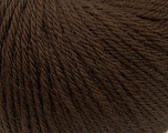 Fiber Content 100% Wool, Brand ICE, Brown, Yarn Thickness 4 Medium  Worsted, Afghan, Aran, fnt2-38002