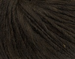 Fiber Content 35% Acrylic, 30% Wool, 20% Alpaca Superfine, 15% Viscose, Brand Ice Yarns, Dark Brown, Yarn Thickness 5 Bulky  Chunky, Craft, Rug, fnt2-38206