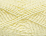 Fiber Content 100% Acrylic, Light Yellow, Brand Ice Yarns, Yarn Thickness 3 Light  DK, Light, Worsted, fnt2-39102