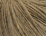Fiber Content 55% Acrylic, 45% Wool, Brand ICE, Dark Beige, Yarn Thickness 4 Medium  Worsted, Afghan, Aran, fnt2-39177