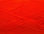 Fiber Content 100% Acrylic, Brand Ice Yarns, Bright Orange, Yarn Thickness 3 Light  DK, Light, Worsted, fnt2-39457