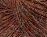Fiber Content 65% Acrylic, 25% Wool, 10% Viscose, Brand Ice Yarns, Copper, Camel, Brown, Yarn Thickness 4 Medium  Worsted, Afghan, Aran, fnt2-40004