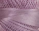 Fiber Content 100% Micro Fiber, Brand YarnArt, Lilac, Yarn Thickness 0 Lace  Fingering Crochet Thread, fnt2-40400