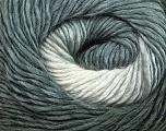 Fiber Content 50% Acrylic, 50% Wool, Brand ICE, Grey Shades, Yarn Thickness 2 Fine  Sport, Baby, fnt2-40621