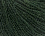 Fiber Content 50% Acrylic, 30% Wool, 20% Alpaca, Brand ICE, Dark Green, Yarn Thickness 3 Light  DK, Light, Worsted, fnt2-40874