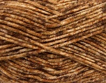 Fiberinnhold 70% Akryl, 30% Ull, Brand Ice Yarns, Brown Shades, Yarn Thickness 4 Medium  Worsted, Afghan, Aran, fnt2-40888