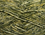 Fiber Content 70% Acrylic, 30% Wool, Brand Ice Yarns, Green Shades, Yarn Thickness 4 Medium  Worsted, Afghan, Aran, fnt2-40892