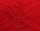 Please note that the yarn weight and the ball length may vary from one color to another for this yarn. Fiber Content 100% Cotton, Red, Brand ICE, Yarn Thickness 3 Light  DK, Light, Worsted, fnt2-40907