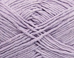 Please note that the yarn weight and the ball length may vary from one color to another for this yarn. Fiber Content 100% Cotton, Lilac, Brand ICE, Yarn Thickness 3 Light  DK, Light, Worsted, fnt2-40919