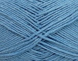 Please note that the yarn weight and the ball length may vary from one color to another for this yarn. Fiber Content 100% Cotton, Brand Ice Yarns, Baby Blue, Yarn Thickness 3 Light  DK, Light, Worsted, fnt2-40920