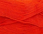 Fiber indhold 100% Baby Akryl, Orange, Brand Ice Yarns, Yarn Thickness 2 Fine  Sport, Baby, fnt2-41119