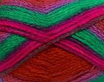 Fiber Content 97% Acrylic, 3% Polyamide, Lilac, Brand ICE, Green, Fuchsia, Copper, Yarn Thickness 5 Bulky  Chunky, Craft, Rug, fnt2-41684