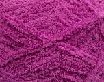 Fiber Content 100% Micro Fiber, Brand Ice Yarns, Dark Orchid, Yarn Thickness 5 Bulky  Chunky, Craft, Rug, fnt2-41768