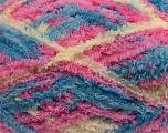 Fiber Content 100% Micro Fiber, Pink, Brand Ice Yarns, Cream, Blue, Yarn Thickness 5 Bulky  Chunky, Craft, Rug, fnt2-41773