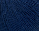 Fiber Content 60% Cotton, 40% Acrylic, Navy, Brand Ice Yarns, Yarn Thickness 2 Fine  Sport, Baby, fnt2-42185