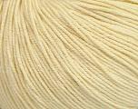 Fiber Content 60% Cotton, 40% Acrylic, Light Lemon Yellow, Brand Ice Yarns, Yarn Thickness 2 Fine  Sport, Baby, fnt2-42525