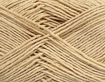 Please note that the yarn weight and the ball length may vary from one color to another for this yarn. Fiber Content 100% Cotton, Brand Ice Yarns, Beige, Yarn Thickness 3 Light  DK, Light, Worsted, fnt2-43335