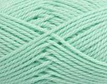 Fiber Content 60% Virgin Wool, 40% Acrylic, Brand Ice Yarns, Baby Green, Yarn Thickness 5 Bulky  Chunky, Craft, Rug, fnt2-43574