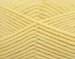 Fiber Content 60% Virgin Wool, 40% Acrylic, Brand ICE, Baby Yellow, Yarn Thickness 5 Bulky  Chunky, Craft, Rug, fnt2-43575
