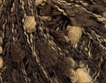 Fiber Content 88% Acrylic, 12% Polyamide, Brand Ice Yarns, Brown Shades, fnt2-44080