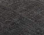 Fiber Content 50% Polyamide, 40% Baby Alpaca, 10% Merino Wool, Brand Ice Yarns, Dark Grey, Yarn Thickness 0 Lace  Fingering Crochet Thread, fnt2-44568
