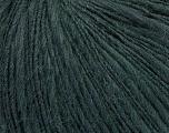 Fiber Content 60% Acrylic, 40% Wool, Brand ICE, Dark Green, Yarn Thickness 3 Light  DK, Light, Worsted, fnt2-44671
