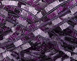Fiber Content 95% Polyester, 5% Metallic Lurex, Purple, Lilac, Brand ICE, Yarn Thickness 5 Bulky  Chunky, Craft, Rug, fnt2-45272