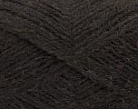 Fiber Content 50% Acrylic, 25% Alpaca, 25% Merino Wool, Brand Ice Yarns, Dark Brown, fnt2-45638