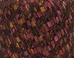 Fiber Content 100% Polyamide, Purple, Maroon, Brand Ice Yarns, Gold, Brown, Yarn Thickness 3 Light  DK, Light, Worsted, fnt2-45877